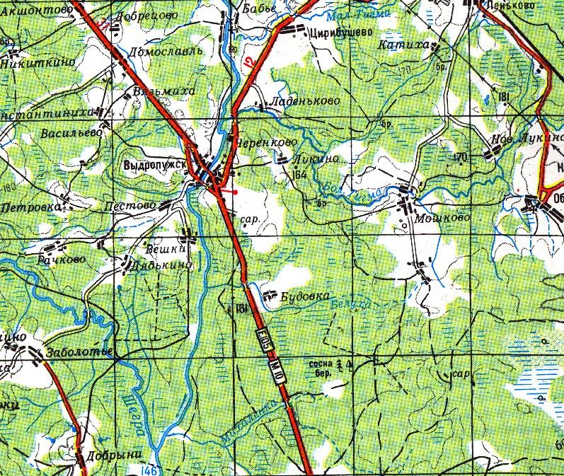 Ночевка в лесу - гирино - вышний волочек - красномайский - р цна, 87 км